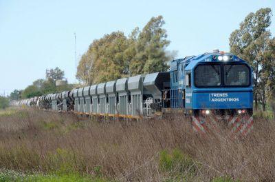 El Belgrano, San Martín y Urquiza cargas transportaron 625 mil toneladas durante agosto