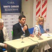 Tras pactar con Larreta, el barrionuevismo se mostró con Aparicio