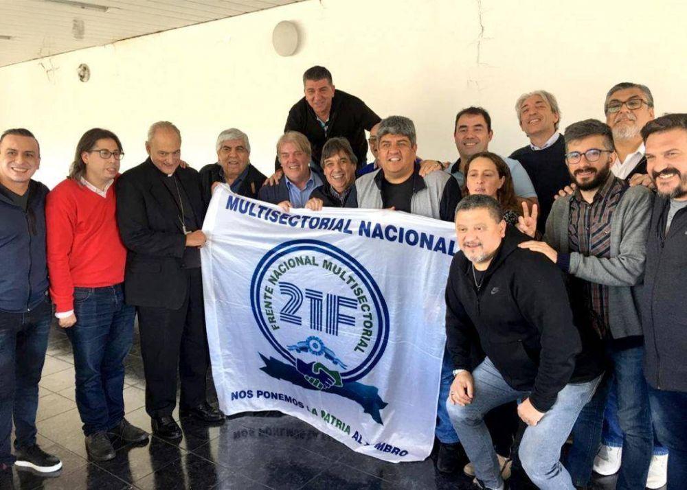 Iglesia, sindicalismo y la 21F debatieron en camioneros sobre la coyuntura nacional