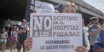 """Denuncian que despidieron a todos los directores del Hospital Posadas para poner """"amigos"""" de la gestión macrista"""