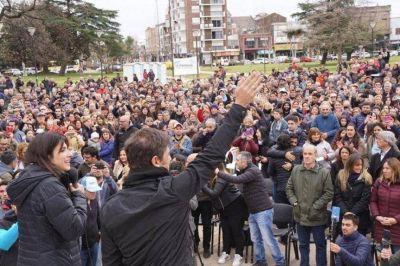 Kicillof vuelve a meter Cuarta en la campaña