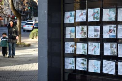El sector inmobiliario se desplomó un 90% en la Ciudad