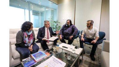 Compromiso a los gremios de retomar la paritaria nacional docente