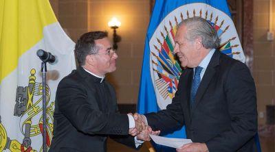 Vaticano abre oficina para que embajador trate asuntos exclusivos de OEA