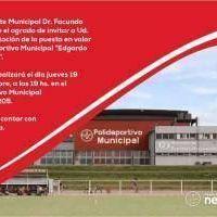 López inaugura este jueves las remodelaciones ejecutadas en el Polideportivo Municipal