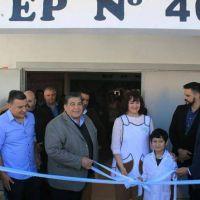 Mario Ishii inauguró otro edificio educativo construido por el municipio
