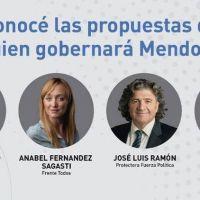 Mendoza: los candidatos a gobernador se miden en un debate en la previa de una elección que tiene en vilo a Mauricio Macri y Alberto Fernández