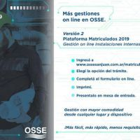 OSSE suma una nueva plataforma digital para gestionar trámites de matriculados