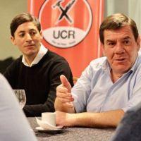 Montenegro recibió el apoyo de la UCR local
