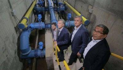 Más agua potable en cantidad y calidad