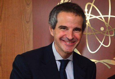Grossi sostuvo que la energía nuclear es uno de los sectores estratégicos del país