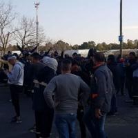 Otra batalla campal por la interna de la Uocra La Plata