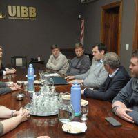 Encuentro de autoridades del OPDS en la Unión Industrial bahiense