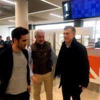 Llega Macri para inaugurar la remodelación del aeropuerto