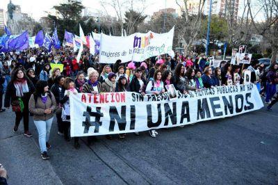 Movilización en la ciudad para repudiar los últimos femicidios