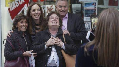 María Eugenia Vidal recorrió Bahía Blanca y Tres Arroyos