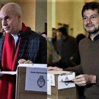 Elecciones en CABA: ¿triunfo en primera vuelta de Horacio Rodríguez Larreta o balotaje?