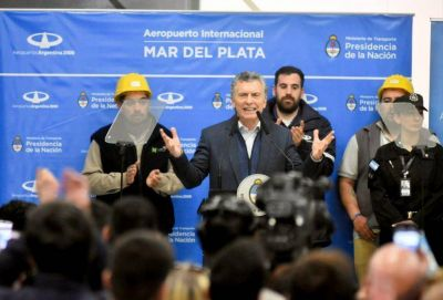 """Macri: """"Esta obra generará trabajo y será un antes y un después"""""""