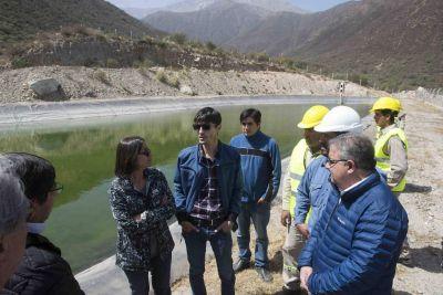 Lucía inauguró obras hídricas y energéticas en Pomán
