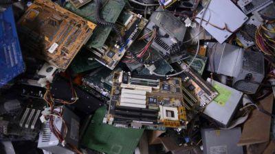 Problema ambiental. El crecimiento de la basura electrónica