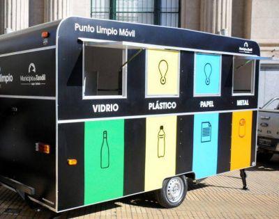 El Punto Limpio móvil recorrerá las escuelas de la ciudad
