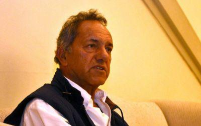 """Scioli pidió """"repensar"""" la utilidad del debate: """"Hay mucha fragilidad"""""""