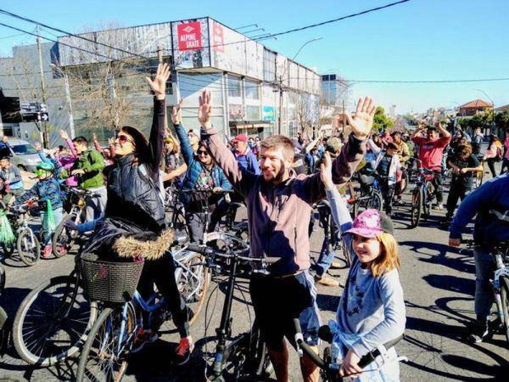 """Bonifatti: """"En 2020 la Caravana de la Primavera debería inaugurar una red de ciclovías"""""""