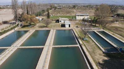 Varias zonas de Maipú sin agua por problemas en el cauce alimentador