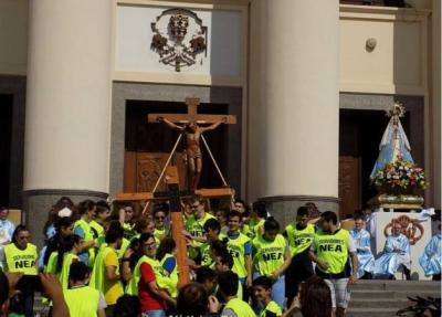 Más de 250 mil jóvenes peregrinan a la Virgen de Itatí y se comprometen a cuidar la vida