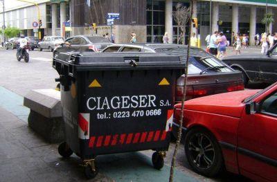 """Residuos voluminosos: denuncian """"connivencia"""" de la 9 de Julio con empresas de contenedores"""