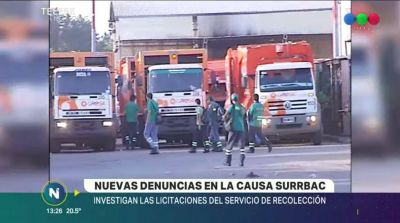 Causa SURRBAC: ahora investigan el proceso de licitación del servicio de recolección de residuos