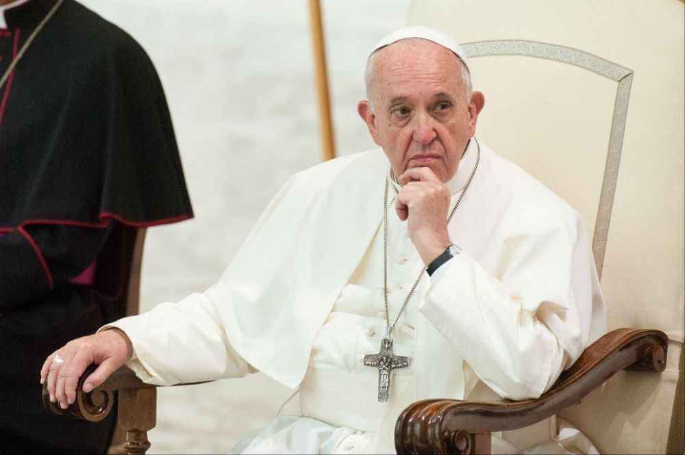 El Papa cuestionó la voluntad política de luchar contra el cambio climático