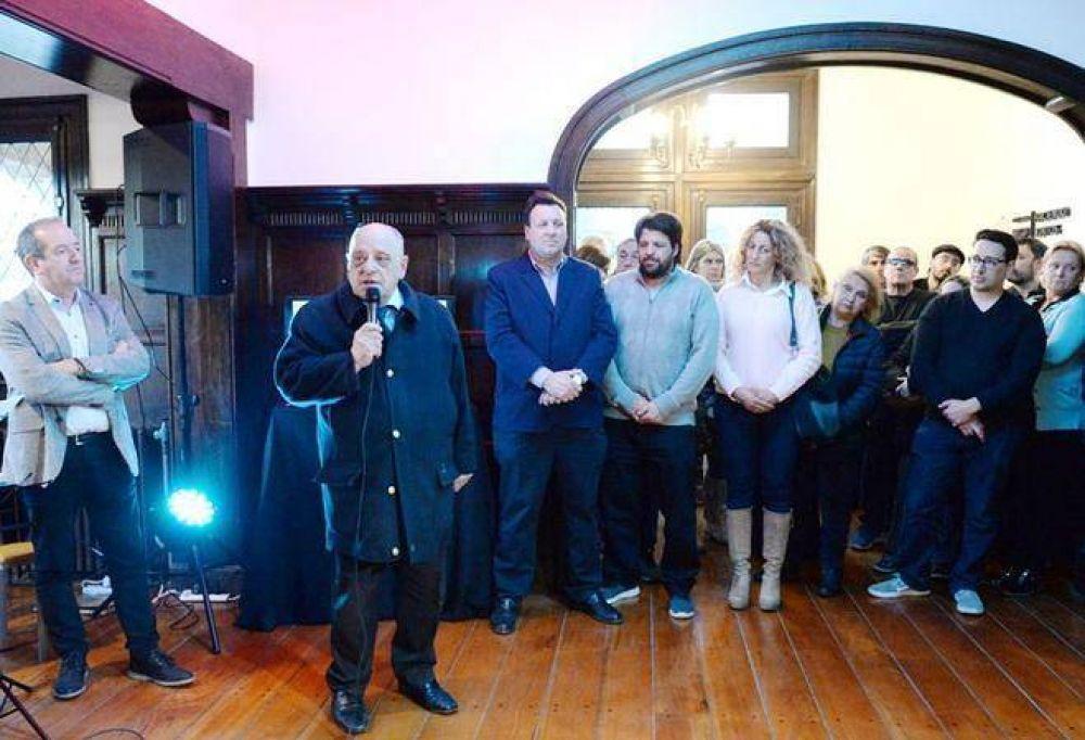 Carlos Arroyo presentó el Espacio Tango que funcionará en el chalet Ave María