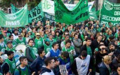 Jornada de lucha y movilización de ATE bonaerense