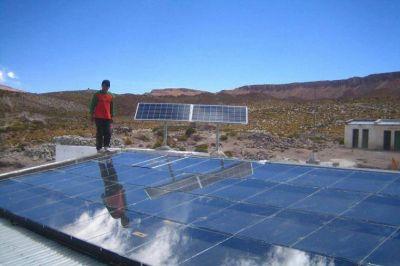 Parque solar: apuran la obra y hay conflicto