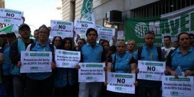 """ATE se movilizó contra la precarización de Rodríguez Larreta: """"Desprecia a los trabajadores"""""""