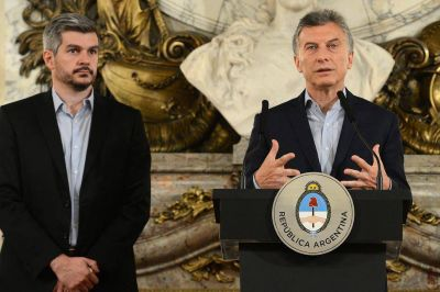Marcos Peña anticipó que Mauricio Macri hará
