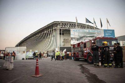 El gobierno niega haber pedido la suspensión de la obra en Ezeiza