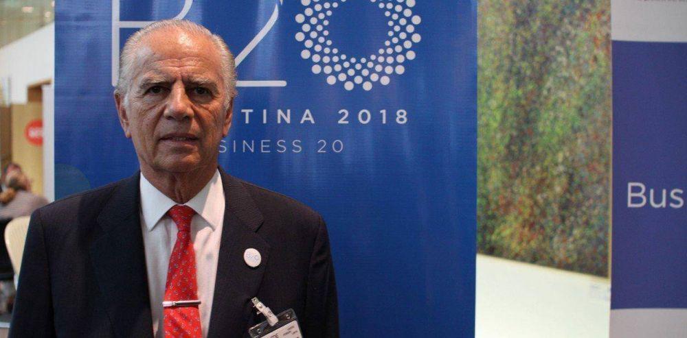 Alejandro Bulgheroni se quejó de los controles cambiarios