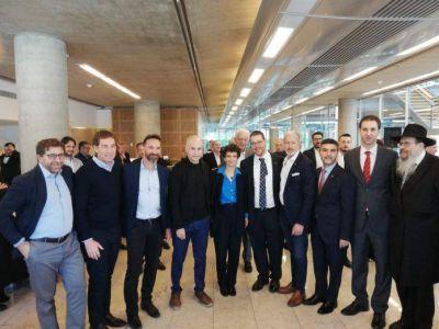 Horacio Rodríguez Larreta y Diego Santilli realizaron el brindis por Rosh Hashaná con la comunidad judía