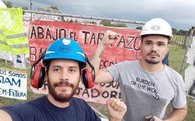 Trabajadores de Edesur y Secco inician campaña para terminar con los cortes de luz