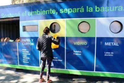 San Isidro: campaña en los ecopuntos para separar residuos