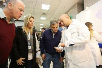 Pulti recorrió Congreso de Cerveza Artesanal y elogió el crecimiento de la cerveza marplatense