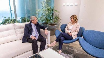 Alberto Fernández se reunió con Florencia Saintout