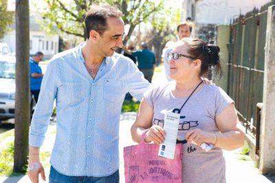 Avanza la histórica obra de cloacas en Barrio Gaona