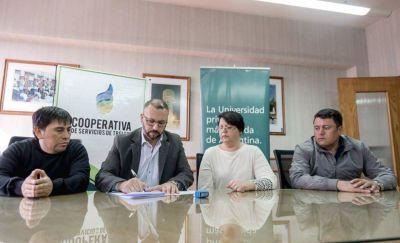 Personal de la Cooperativa Eléctrica tendrá beneficios para acceder a las carreras de la Universidad Siglo XXI