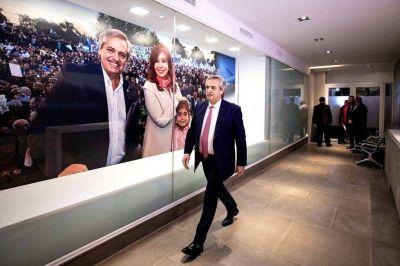 El búnker de Alberto Fernández. La caótica antesala del poder peronista