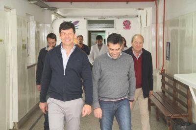 El Dr. Arnaldo Medina valoró la funcionalidad del Hospital Municipal de Necochea