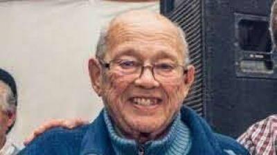 """A los 82 años de edad falleció el ex Intendente de Lobería Juan José """"Pepe"""" Fioramonti."""