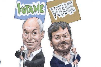 Larreta y Lammens afinan su estrategia para enfrentarse en el debate